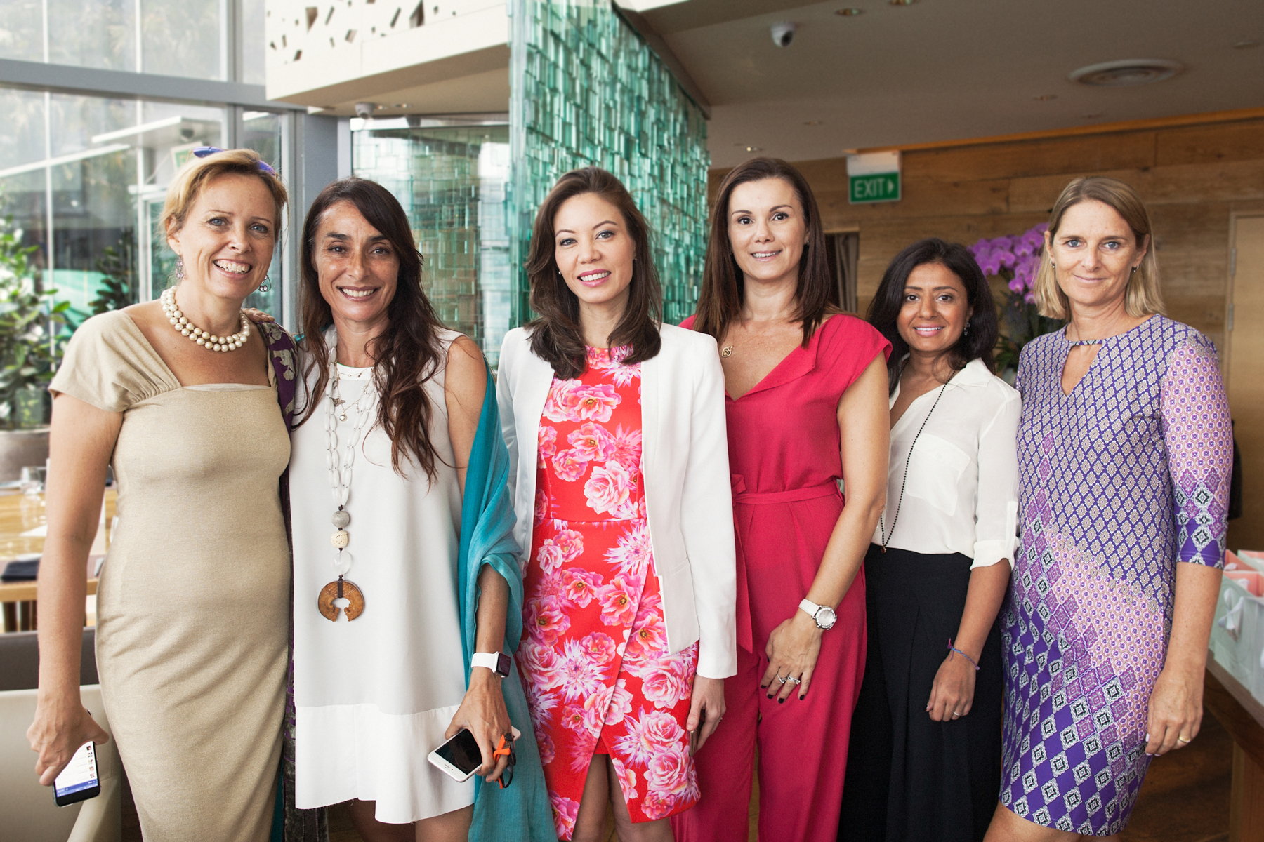 Charity lunch with Women on a  Mission Singapore by Irina Nilsson Photography
