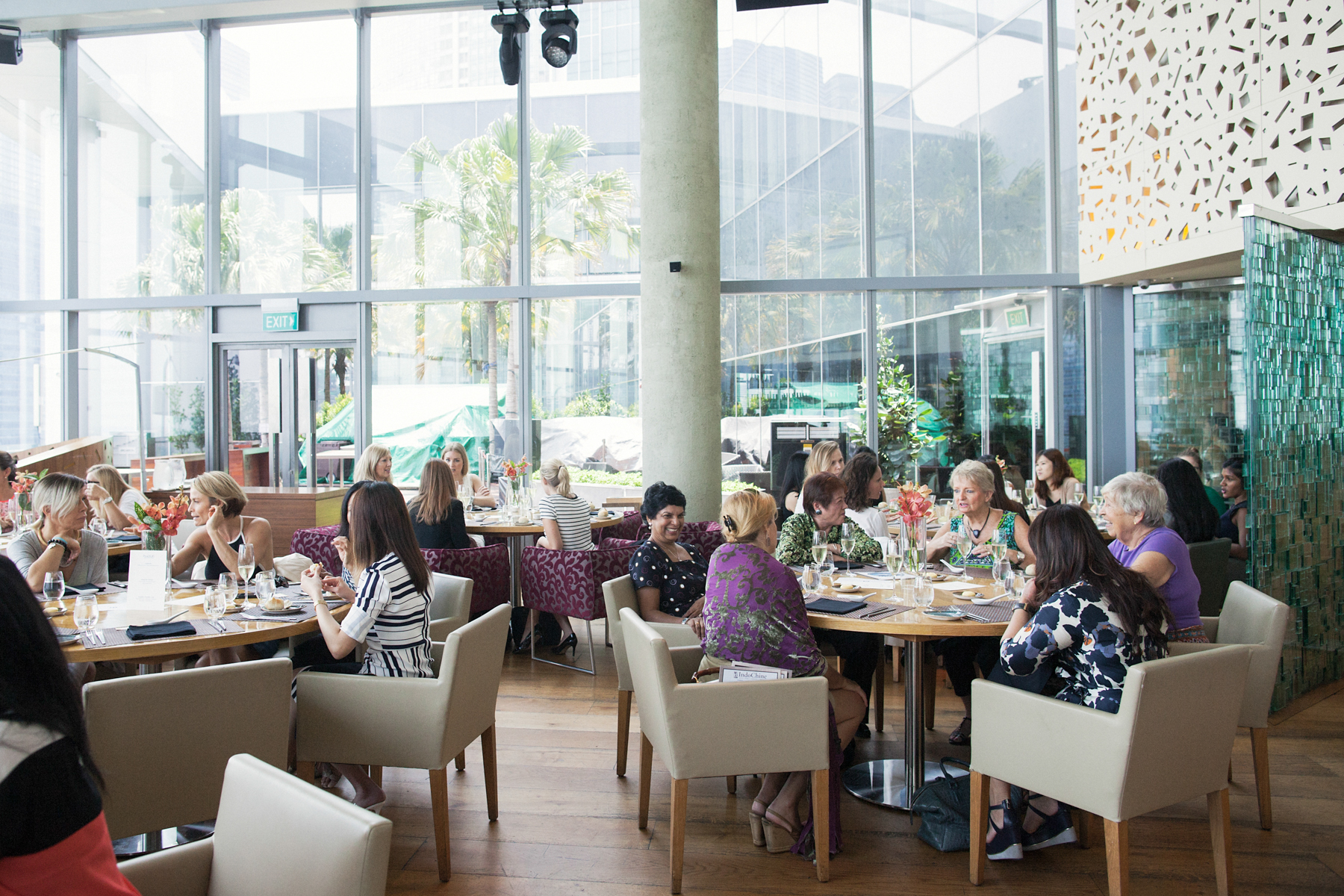Charity Lunch at me@OUE by Irina Nilsson Photography