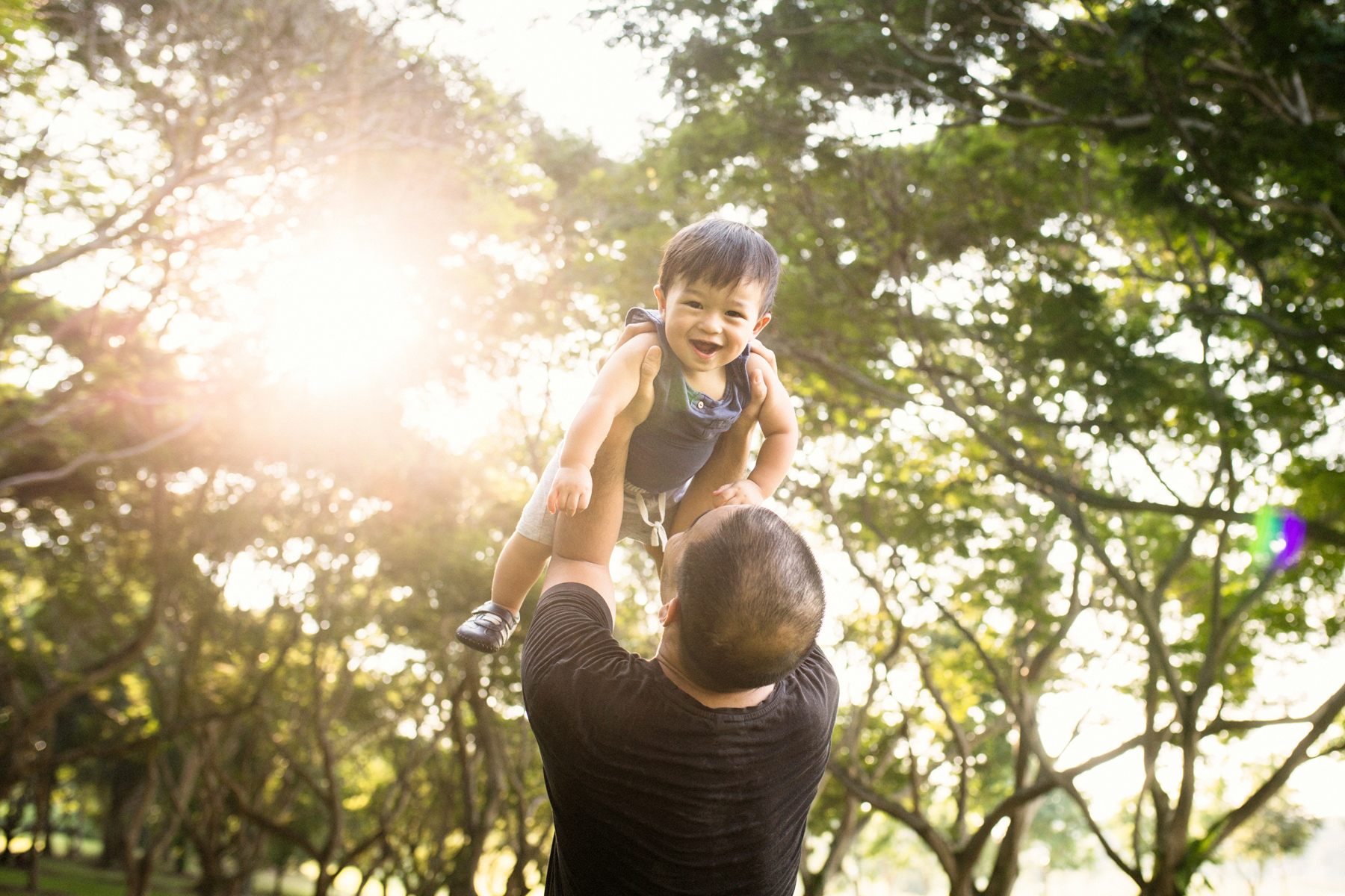 Childrens lifestyle photography outdoors Singapore