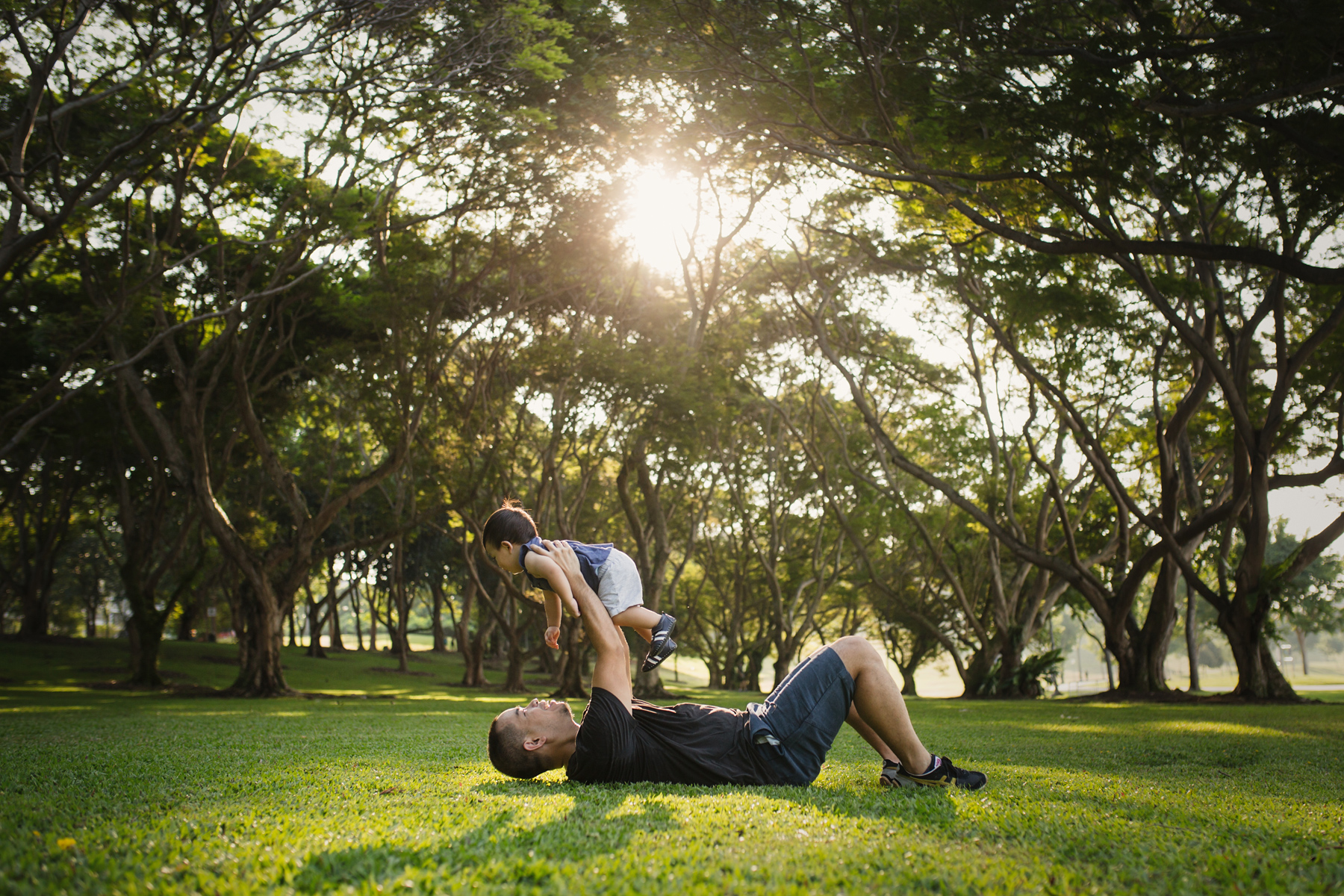 Outdoor lifestyle family photography Singapore